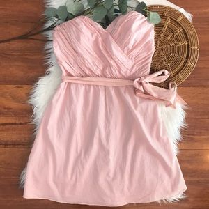 EXPRESS Rose Pink sweetheart strapless dress